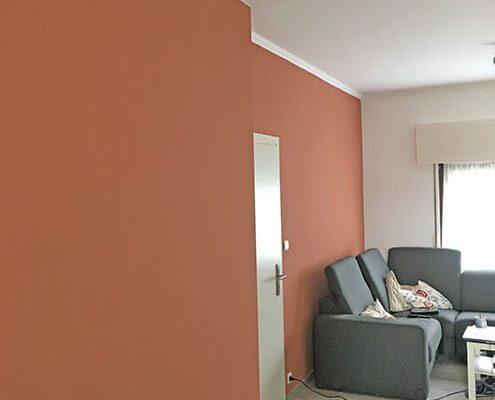 schilderen woonkamer