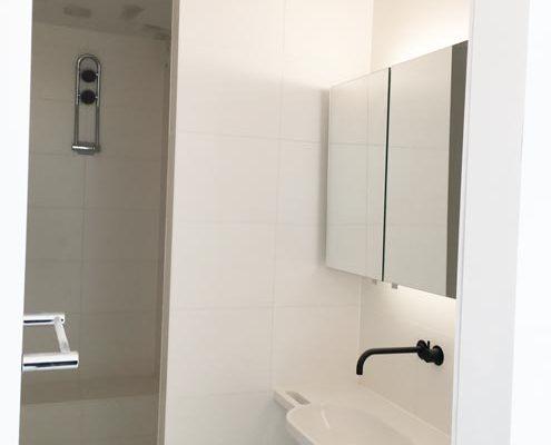 bezetten badkamer