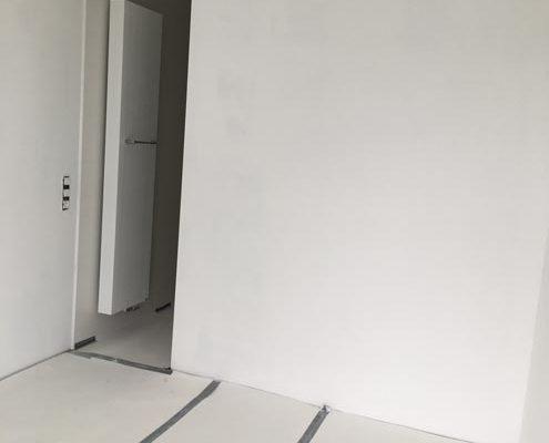 bezetten muur appartement